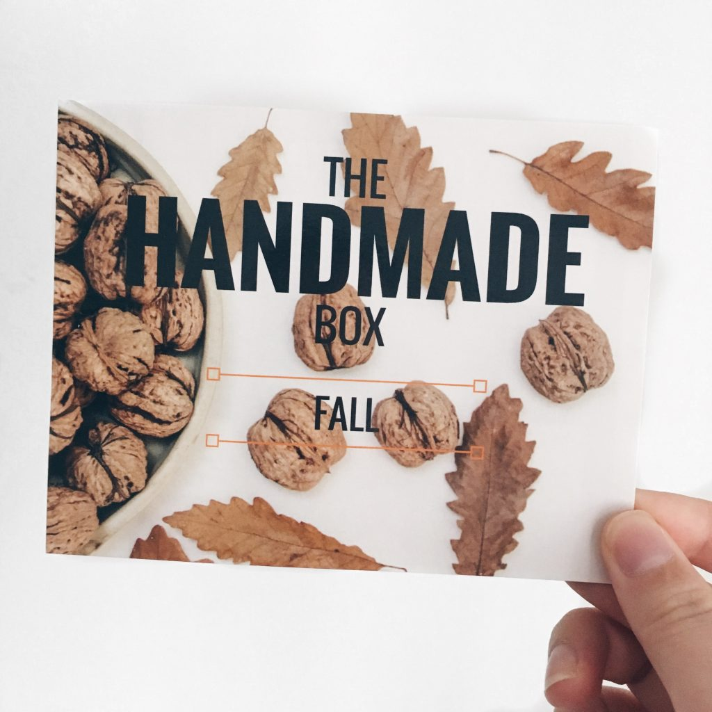 The Handmade Box par Roméo & Stella